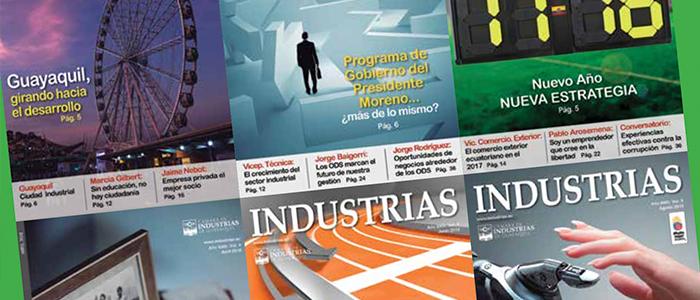 Revista Industrias: 45 Años siendo la voz del industrial