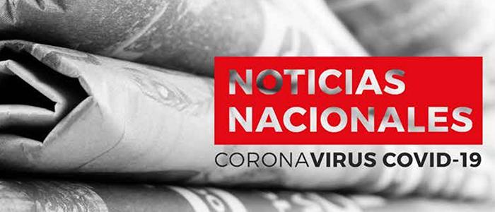 Noticias Nacionales COVID-19