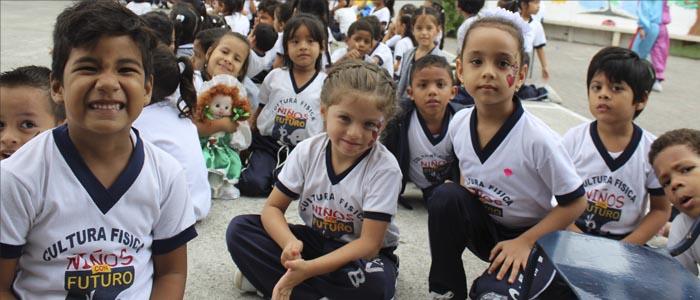 De lo cotidiano a la renovación, por un objetivo: los niños