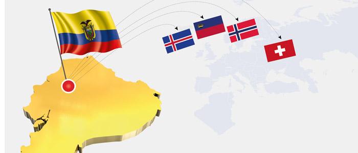 Acuerdo Comercial entre Ecuador y EFTA listo para entrar en vigencia