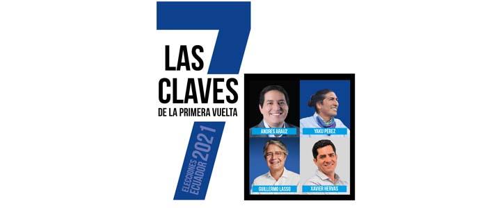 Las 7 Claves de la Primera Vuelta en las Elecciones Ecuador 2021