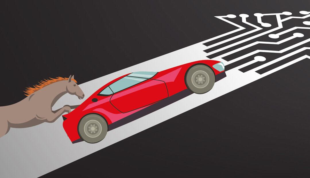 De caballos a automóviles: Hacia la industria 4.0